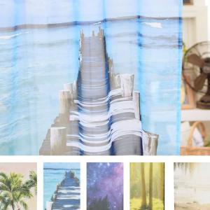 西海岸 ビーチ ハワイアン カーテン マリン トロピカル  暖簾  リゾート|vacationclub|04