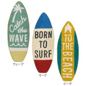 サーフ雑貨 サーフボード マット ビーチ Lサイズ 西海岸 コットン100% 綿 床マット インテリア フロアマット|vacationclub