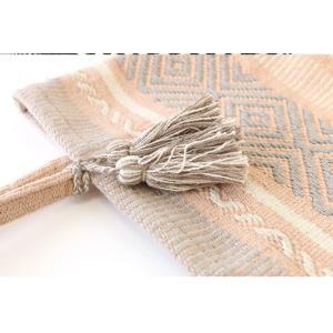 手織り ネイティブ  トートバッグ ルーシッド L タッセル 素材 バック|vacationclub|05