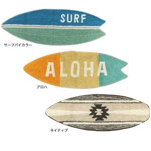 ハワイアン サーフ雑貨 サーフボード マット ネイティブ Lサイズ 床マット インテリア フロアマット|vacationclub