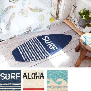 サーフボード マット ハワイアン  西海岸 玄関 サーフインテリア 床マット インテリア|vacationclub