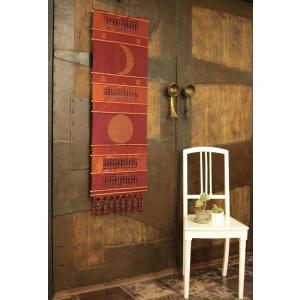 タペストリー 月と太陽 アジアン雑貨 サロン 装飾 スパ アジア アロマサロン SPA 飾り 壁掛け|vacationclub