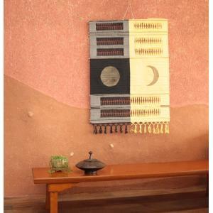 タペストリー月と太陽アジアン 雑貨 サロン 装飾 SM-32L|vacationclub