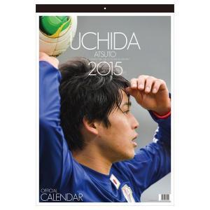 Jリーグオフィシャルカレンダー 2015 内田篤人オフィシャルカレンダー 壁掛け value-club