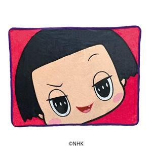 NHKのTV番組「チコちゃんに叱られる」のブランケットです。  サイズ:100×70cm 。