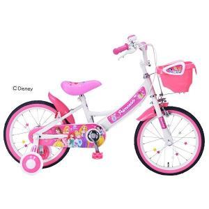 My Pallas(マイパラス) 子ども用自転車 MD-08 16インチ ピンク ディズニープリンセス|value-club