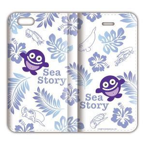 海物語 手帳型iPhone6カバー クジラッキー|value-club