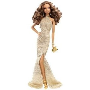 Barbie(バービー) The Look: Gold Dress Barbie(バービー) Doll ドール 人形 フィギュア|value-select