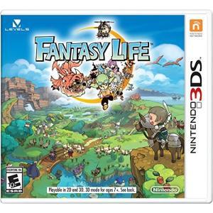 ファンタジーライフ(特典なし) Fantasy Life ニンテンドー3DS 英語北米版