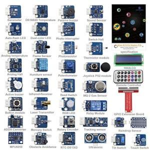 Raspberry Pi 用 37 Modules Sensor Kit V2.0 ラズベリーパイモジュールセンサーキットV2.0|value-select