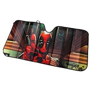 Deadpool デッドプールユニバーサル サンシェード折りたたみ式 147x70cm|value-select