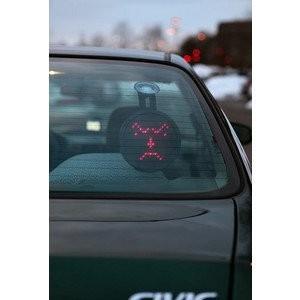 Drivemocion LED Car Sign LED車メッセージ記号をリモート制御|value-select