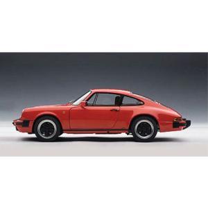 ダイキャストカー 1988 ポルシェ 911 カレラ レッド 1/18|value-select