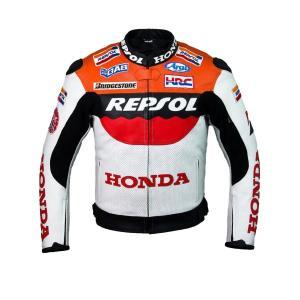 プロ仕様のレーシングジャケット★ ホンダHONDA レプソル チームレーシングジャケットサイズL (EU52-54)|value-select