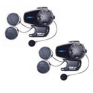 SENA SMH10-11 DUAL(2台)パック フルフェイス用 バイク用インカム Bluetooth3.0 インターコム US輸入版|value-select