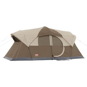 コールマン ウェザーマスター 10人用テント Coleman WeatherMaster 10 Person Hinged Door Tent|value-select