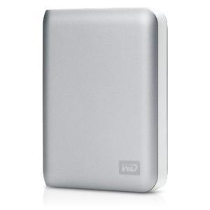 パスポートサイズのHDD W.D. ポータブルHDD(1TB、USB 2.0、MAC用)