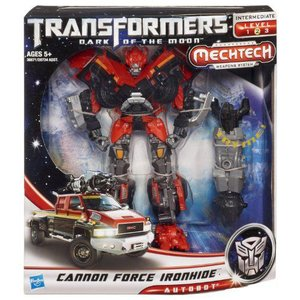 Transformers トランスフォーマー Dark Of The Moon Mechtech Voyager Class Cannon Force Ironhide Figu|value-select|02