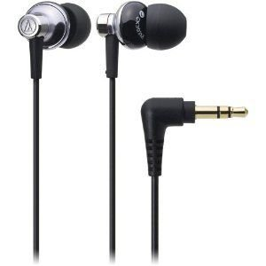 Audio Technica オーディオテクニカ ATH-CK303MSV Sound Isolation In-Ear Headphone ヘッドフォン - Sil