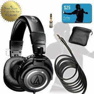 Audio Technica オーディオテクニカ ATH-M50S Studio Headphone...