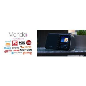 Grace Digital Mondo+ グレースデジタル インターネットラジオ ワイヤレススマートスピーカー Wi-Fi、Bluetooth、3.5インチカラーディスプレイ|value-select|06