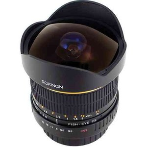 Rokinon ロキノン 8mm Ultra Wide Angle f/3.5 Fisheye Lens 魚眼 for Nikon F Mount (ニコンFマウント)|value-select