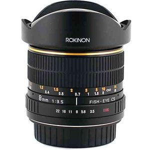 Rokinon ロキノン 8mm Ultra Wide Angle f/3.5 Fisheye Lens 魚眼 for Nikon F Mount (ニコンFマウント)|value-select|02