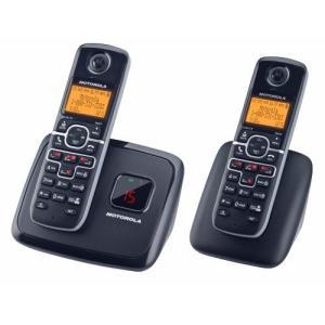 MOTOROLA DECT 6.0 L702M コードレス 電話機 子機1台付き