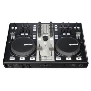 Gemini CNTRL-7 USB/MIDI DJ Mixer & Controller with Sound Card|value-select