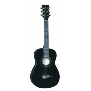 Dean ディーン Playmate Mini Acoustic Classic Guitar, Black with Gig Bag, 3/4-Size アコースティック|value-select