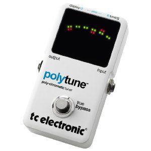 t.c.electronic Polytune poly-chromatic tuner  【チューニングを早く、シンプルに。複数の弦を同時にチ