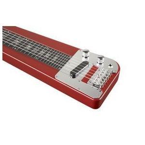 ローグ/Rogue RLS-1 Lap Steel Guitar with Stand and Gig Bag Metallic Red/民謡/民族楽器|value-select|03