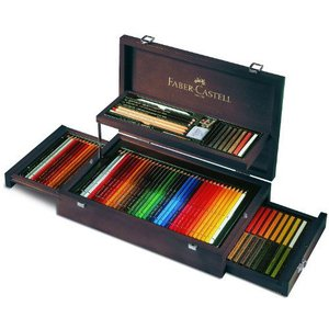 Faber-Castell Art and Graphic Collection Mahogany Vaneer Case アートペン|value-select