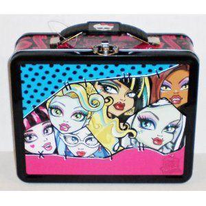 モンスターハイ ランチボックス Monster High Freaky Fab Embossed Metal Lunch Box/ Carry-All|value-select