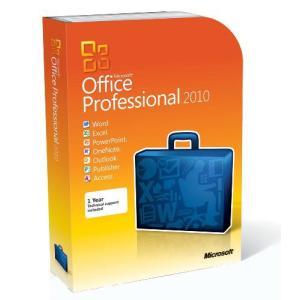 Microsoft Office Professional 2010 - 2PC/1User (Disc Version)英語版