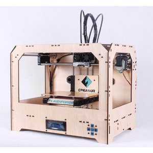 FlashForge 3D プリンター dual extruder w/2 ABS spools|value-select