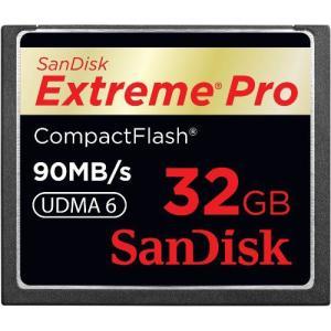 サンディスク Extreme Pro コンパクトフラッシュ 32GB 90MB/Sec. (国内正規品と同性能)