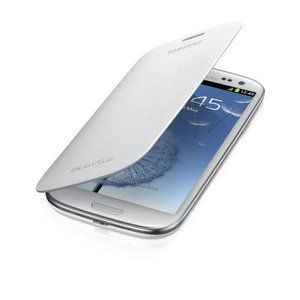 Samsung Galaxy S III Flip Cover, Marble White - サムスン電子純正 - 米国保証 -