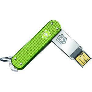 【商品名】Victorinox Slim Alox 32GB USB Flash Drive, Gr...
