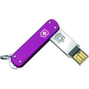 【商品名】Victorinox Slim Alox 32GB USB Flash Drive, Pi...
