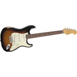 Fender Road Worn '60s Stratocaster Electric Guitar 3 Tone Sunburst|value-select