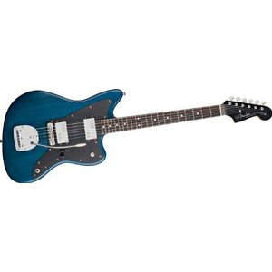 Fender Lee Ranaldo Jazzmaster Electric Guitar Sapphire Blue Transparent|value-select