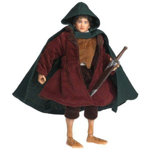 Lord of the Rings ロードオブザリング Fellowship of the Ring Deluxe Action Figure Frodo 人形 ドール|value-select