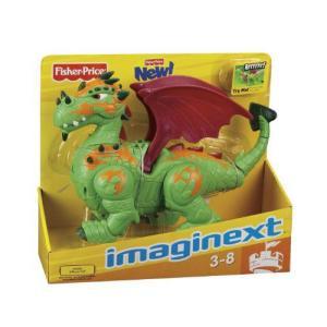 Fisher Price フィッシャープライス Imaginext Walking Dragon フィギュア ダイキャスト 人形
