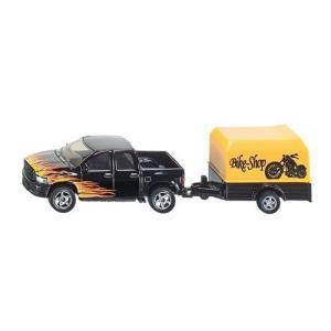 Siku ジク Pickup with Trailerミニカー モデルカー ダイキャスト value-select