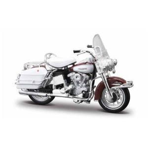 Harley Davidson ハーレーダビッドソン - 1966 FLH Electra Glideミニカー モデルカー ダイキャスト value-select