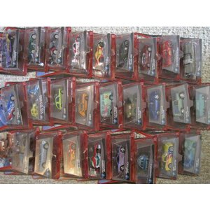 ディズニー ピクサー Cars 2 カーズ2 complete set of 27 Different Mattel マテル Vehicles 1:55 スケー|value-select