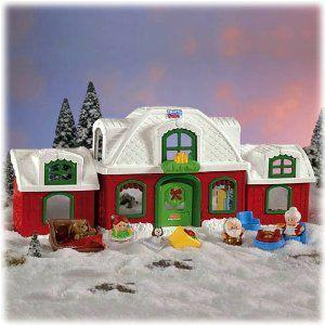 Fisher Price (フィッシャープライス) Little People North Pole Cottage