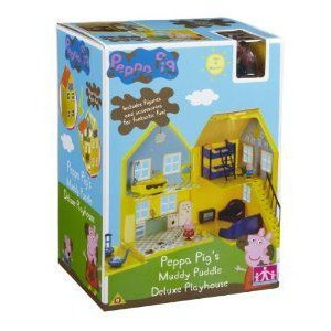 Peppa Pig's Muddy Puddle Deluxe Playhouse