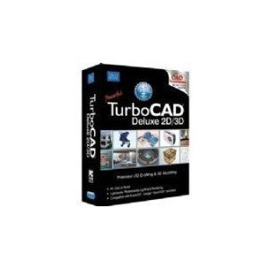 TurboCAD Deluxe 2D/3D CADデザインソフト【輸入版】